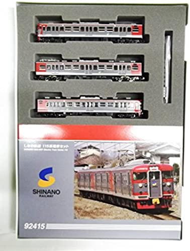 Shinano Railway Electric Train Series 115 (3-Car Set) (Model Train)