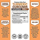 Turmeric Curcumin with BioPerine 1500mg - Natural Joint & Healthy Inflammatory Support with 95% Standardized Curcuminoids for Potency & Absorption - Non-GMO, Gluten Free Capsules with Black Pepper. #2
