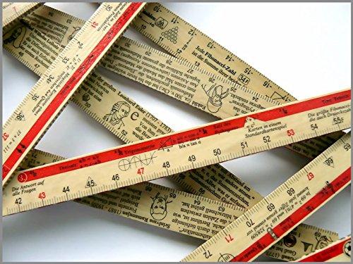 Zahlen am laufenden Meter: Der Mathe-Zollstock. Die Geschichte der Zahlen und der Mathematik auf 200 Zentimetern