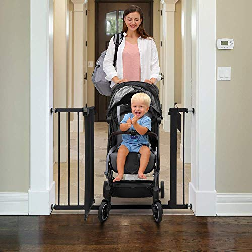 Baybee Auto Close Safety Baby Gate Auto Close Safety Baby Gate, Extra Tall and Wide Child Gate, Easy Walk Thru Durability Dog Gate for The House,... 6