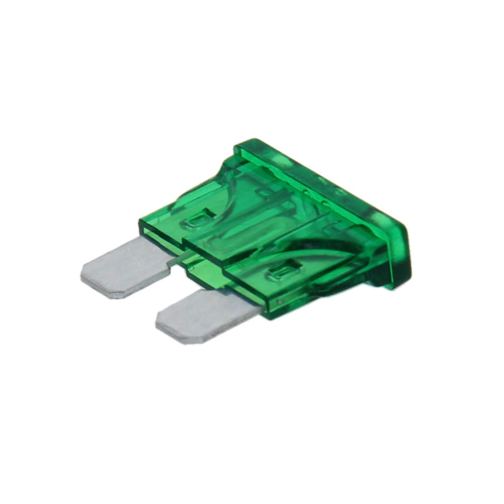 Fielect 20Pcs 10 Amp Blade Fuse Fast Blow for Car RV Boat Auto