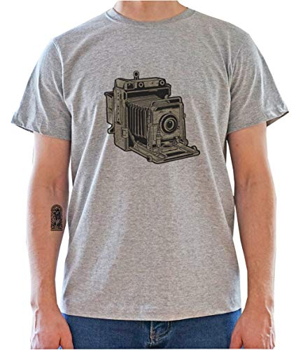 DreamGirl Vintage Photo Camera Graphic Mens T-Shirt X-Large