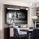 Impresiones para paredes Boxer golpeando un saco de boxeo Pintura moderna sobre lienzo Cuadros Carteles e impresiones Imagen de arte de pared Decoración para el hogar 40x60cm sin marco