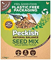 PLASTIC FREE PACKAGING - Feeding the birds and reducing plastic use. There's a lot to feel good about 8 SEED BLEND - Chosen to attract a wide variety of birds RICH IN SUNFLOWER SEEDS - Offers high energy and loves by small beaked birds 100% NATURAL I...