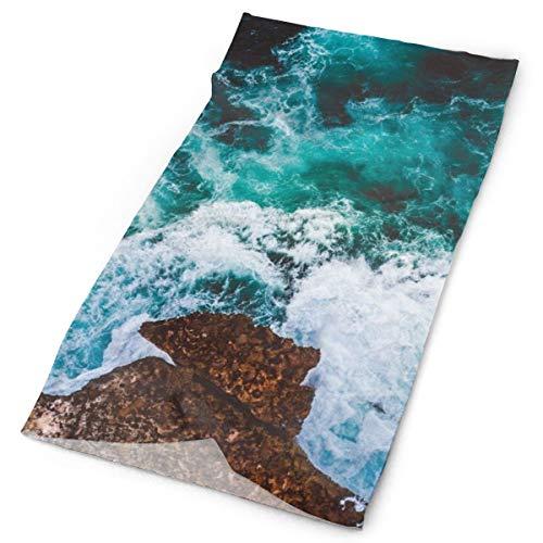 Pengyong Agua Mar Surf Espuma Unisex Moda Secado Rápido Microfibra Tocado Al Aire Libre Mágica Bufanda Cuello Bufanda Bufanda Con Capucha Super Suave Mango