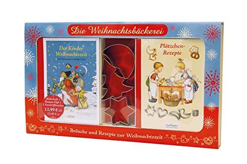 Die Weihnachtsbäckerei – Bräuche und Rezepte zur Weihnachtszeit: Nostalgisches Weihnachtsbackset
