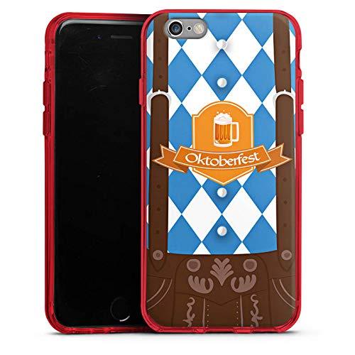 DeinDesign Silikon Hülle Case Schutzhülle für Apple iPhone 6s Oktoberfest Lederhose München