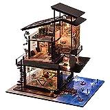 Kit De Casa De Muñecas En Miniatura De Bricolaje Casa De Muñecas De Madera Beso Piscina Piscina Modelo De Playa Modelo De Casa Pequeña Hecha A Mano Juguete Ensamblado Regalo De Cumpleaños Regalo CREA