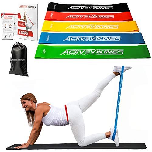 ActiveVikings -  Fitnessbänder Set