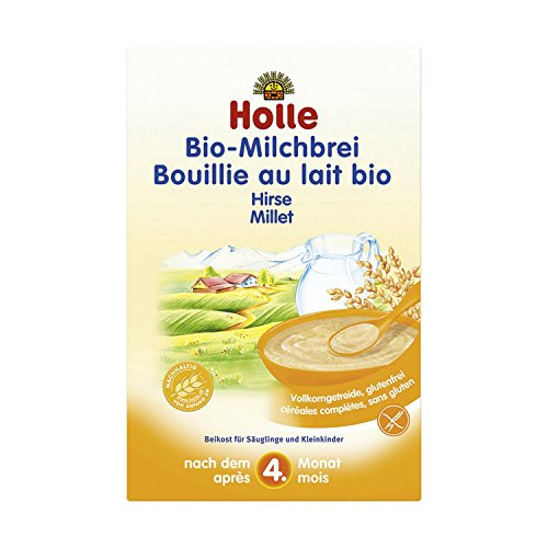 Holle - Bouillie de lait au millet, à partir de 4 mois (sans gluten)