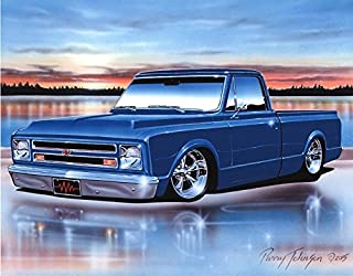 chevrolet truck posters