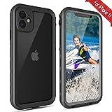 iPhone 11 Waterproof Case【IP68 Certified】 Shockproof Anti-Drop, 360°Full...
