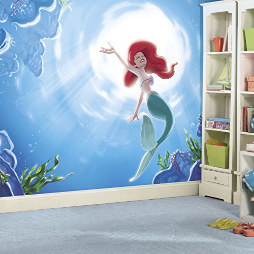 RoomMates Disney The Little Mermaid Wall Mural Now $71.01 (Was $154)