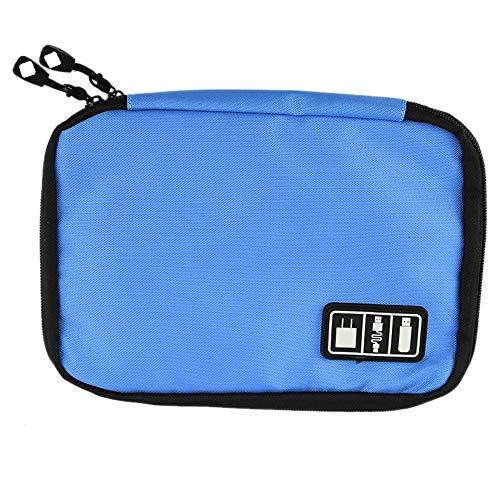 XUAILI Herbruikbare Lunchbox Bag Draagbare Travel Organizer Opbergtas, voor digitale accessoires zoals U disk/USB flash drive/datakabel/powerbank