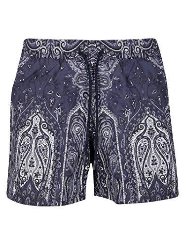 Etro Luxury Fashion Herren 1B35040680201 Blau Andere Materialien Badeboxer | Ss21