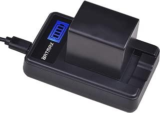 Batmax 1Pc BP-820 BP-828 Battery + LCD USB Charger for Canon VIXIA GX10, HFG20, HF G21, HFG30, HFG40, HFM30, HFM31, HFM32, HFM400, HFS200, XA10, XA11, XA15, XA20, XA25, XF400