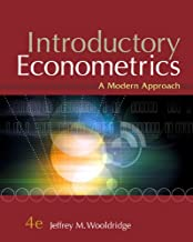 Introductory Econometrics: A Modern Approach, 4th Edition