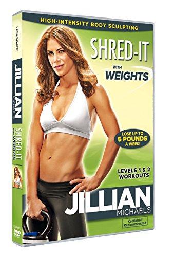 Jillian Michaels: Shred It with Weights [DVD] [Edizione: Regno Unito]