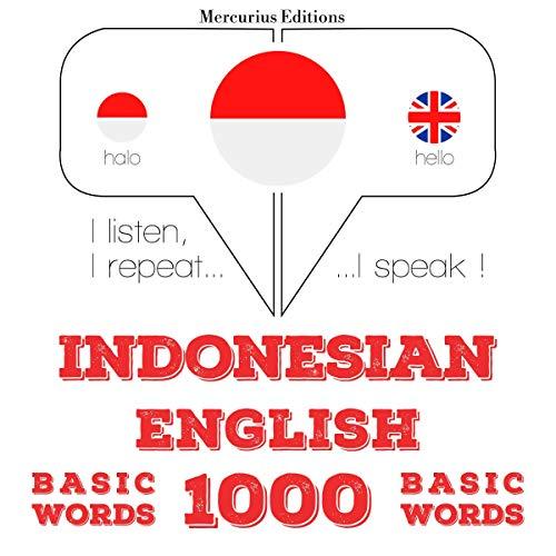 『Indonesian – English. 1000 basic words』のカバーアート