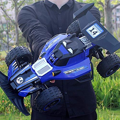 Tastak 1: 12RC-Rennwagen, 2,4 GHz High Speed-Fernbedienung Auto, 2WD Spielzeugautos Buggy für Jungen & Mädchen mit wiederaufladbaren Batterien für Auto, Geschenk für Kinder (Color : Blau)