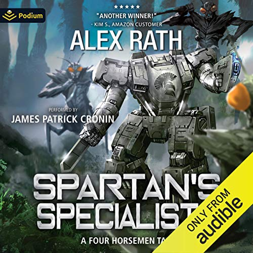 Spartan's Specialists cover art