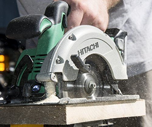 """Hitachi C18DGLP4 18V Cordless Lithium-Ion 6-1/2"""" Circular Saw with Lifetime Tool Warranty (Tool Only, No Battery)"""