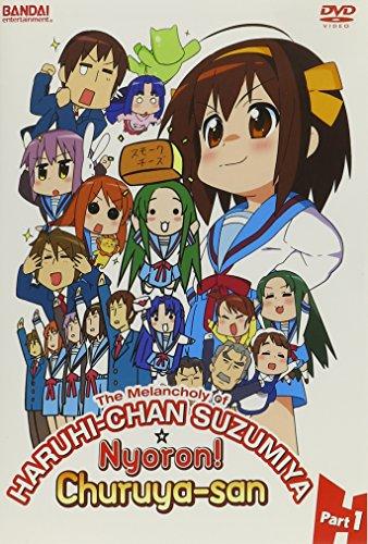 The Melancholy of Haruhi-Chan Suzumiya & Churuya-San! Part 1 [DVD]