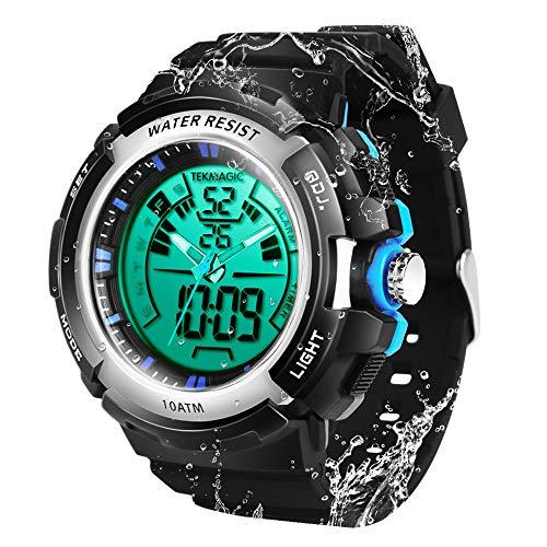 TEKMAGIC 10ATM Waterproof Digital Scuba Diving Watch
