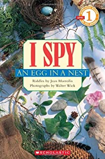 I Spy an Egg in a Nest: Scholastic Reader Level 1