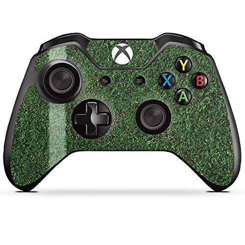 DeinDesign Skin kompatibel mit Microsoft Xbox One Controller Folie Sticker Kreisliga Fußball Rasen