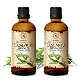 Aceite Esencial de Eucalipto 200ml - Eucalyptus Globulus - 100% Puro y Natural -...