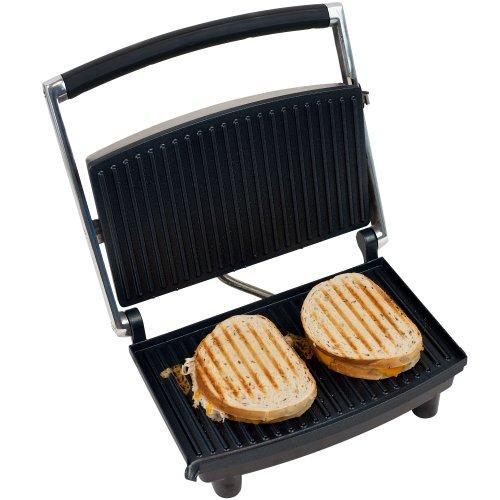 Chef Buddy 80-1840 Panini Press Grill and Gourmet Sandwich Maker pour une cuisine saine par