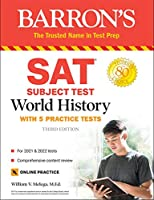 SAT Subject Test World History: with 5 practice tests (Barron's Sat Subject Tests)