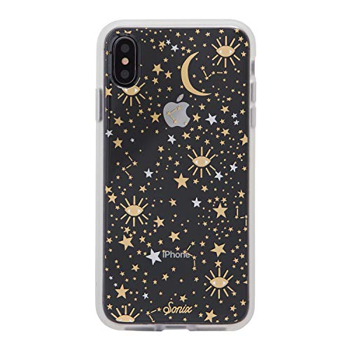 Sonix Cosmic Stars Case for iPhone Xs Max Protective Clear Gold Silver Star Case Series for Apple iPhone Xs Max