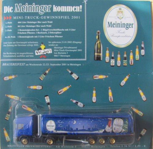 Meininger Nr.22 - Winterbock - Scania - Sattelzug mit Tankauflieger