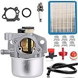 N/C ZAMDOE 799871 799866 Carburador para Briggs & Stratton 790845 796707 794304 Motor Toro Recycler Kit de Piezas para cortacésped Craftsman de 22 Pulgadas
