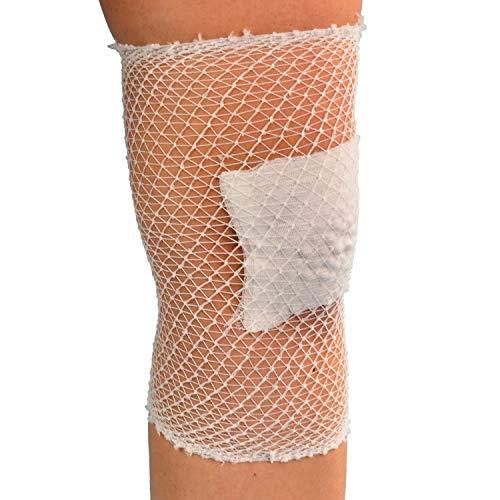 Zarys SO-0610 elastoNET Elastischer Röhrenförmiger Netzverband für Kopf, Schulter, Unterschenkel und Knie, Nicht Steril, 10m Length