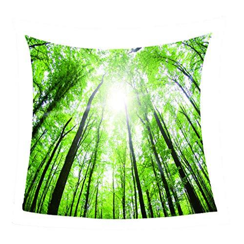 GNMDC deken van flanel, tapijt met houtmotief, creatieve motieven, deken van microvezel, polyester, bedden, sofas, stoelen, huishoudtextiel
