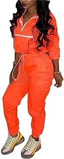 neon orange windbreaker