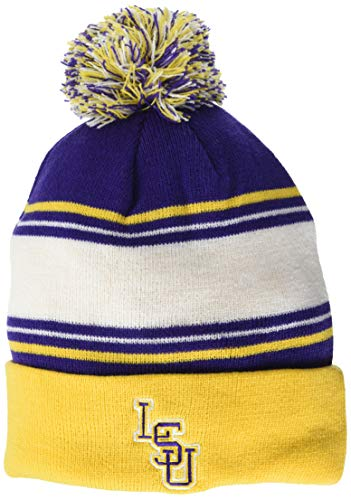 Top of the World LSU Tigers Men's Ambient Warm Team Icon Knit Hat, One Fit