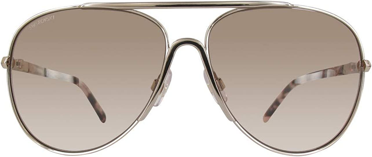 Swarovski SK0138 33Z Gold Violet Pilot Ca Brand Cheap Sale Venue Max 85% OFF Sunglasses Lens