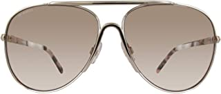 Swarovski Aviator Women's Sunglasses - SK0138 - 59-13-135mm Gold