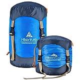 Hikenture Compression Sack for Sleeping Bag, Upgrade 2.0 Anti-Tear Nylon Sleeping Bag Stuff Sack,...