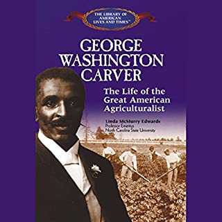 George Washington Carver audiobook cover art