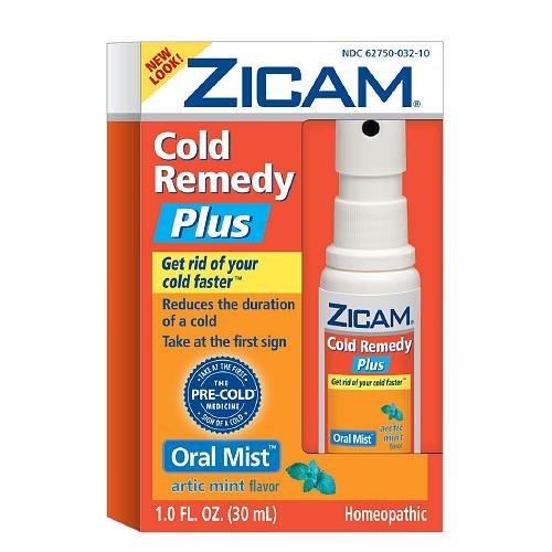 Zicam Cold Remedy Pre Cold Oral Mist Arctic Mint 1 Oz