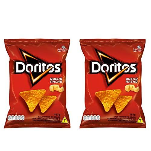 Doritos Elma Chips Sabor Queijo Nacho - Kit com 02