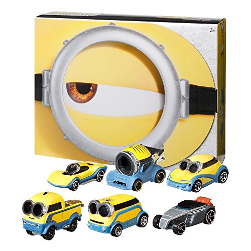 Hot Wheels Minions: The Rise of Gru Bundle 6-Pack of Vehicles 1:64 Scale...
