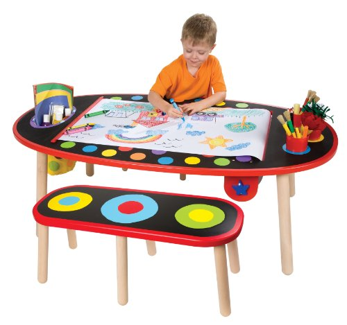 Alex Artist Studio Super Art Table with Paper Roll Kids Art Supplies