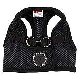 PUPPIA Arnés Suave Tipo Chaleco Soft Vest Harness, Polyester, Negro, S