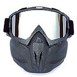 BTPDIAN Skibrille, Winter Winddichtes Motocross Sonnenbrille Ski Brillen Schneemobile Brillen...